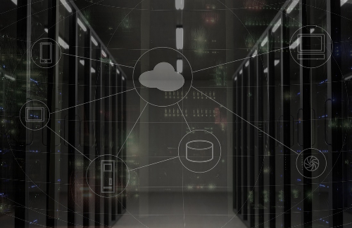 AWS Cloud Solutions Server Room Image